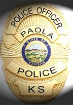 Paola Police Badge
